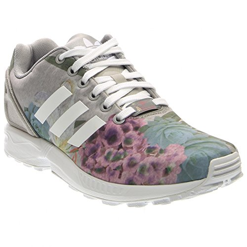 adidas ZX Flux Women's Shoes Solid Grey/White/Lush Pink aq3067 (6.5 B(M) US) For Sale