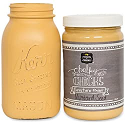 Chalk Finish Paint - Furniture & Cabinet Paint (32 oz., Mustard Seed)