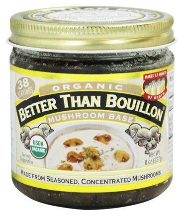 Better Than Bouillon Organic Mushroom Base 6x 8Oz by Better Than Bouillon
