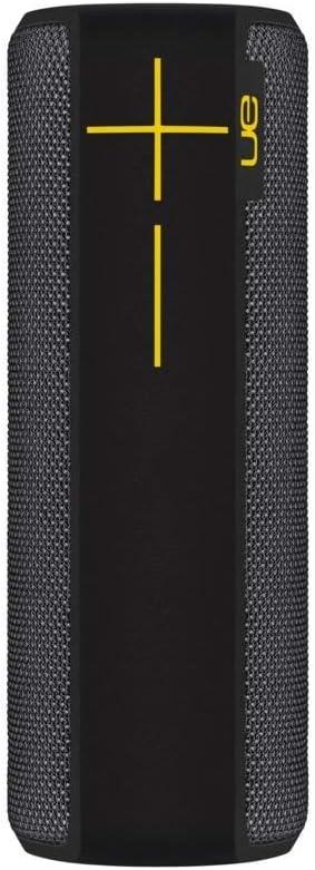 Ultimate Ears BOOM 2 - Altavoz inalámbrico/Bluetooth (impermeable y resistente a golpes), Panther Edition, Negro/Amarillo (Reacondicionado)