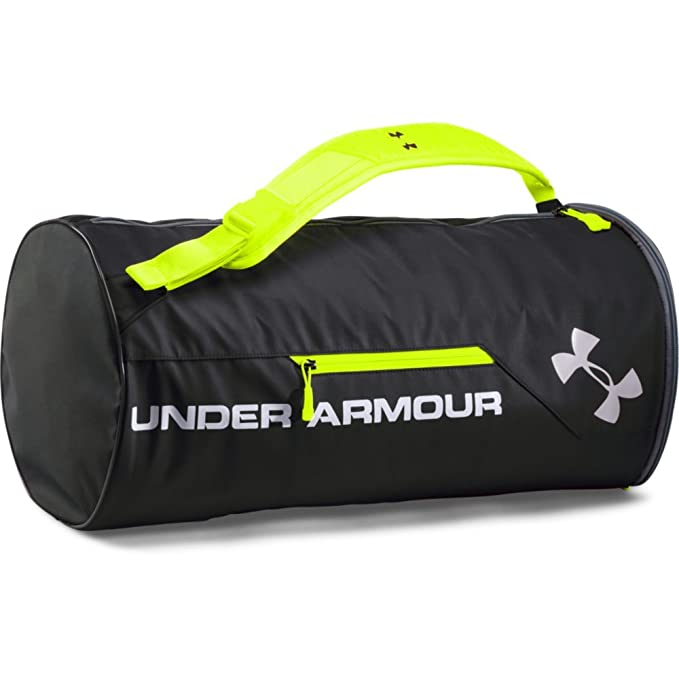 Under Armour Isolate Duffel Bag, Black /Silver, One Size