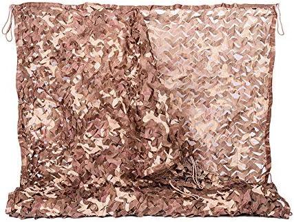 Color claro del desierto Adecuado para sombrilla Jardín Decoración Múltiples tamaños Al aire libre Lona alquitranada Camo Sun Mesh Sunscreen Sombra Red de toldo te Carpa Tarpa tela velas camping