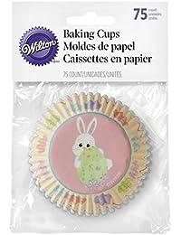 Take 415-7902 Wilton Easter Baking Cups, 75-Count dispense