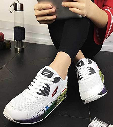 Liebhaber Schuhe Größe Damenschuhe Lace Damen Bequeme Travel 36 up C Freizeitschuhe Luftkissen Turnschuhe Farbe Neue Ein Outdoor P1x1wqIT6