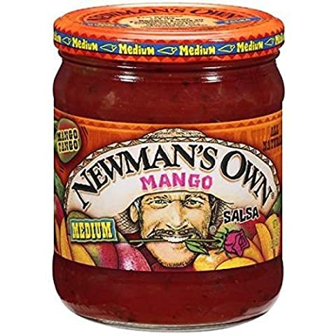 Newman's Own All Natural Medium Mango Salsa by Newman's Own - Own Manga