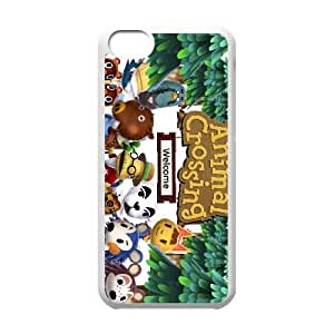 iPhone 5c Cell Phone Case White Animal Crossing New Leaf R4W6DC