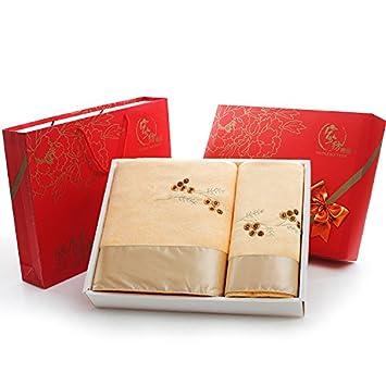 ZHFC Toalla set de regalo 1 1 toalla toalla boda boda cumpleaños regalo empresa Grupo de compra 140x70cm,Traje de Dragon Ball y café: Amazon.es: Hogar