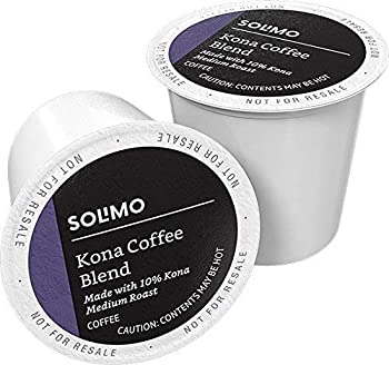 Solimo Medium Roast Coffee Pods Kona Coffee