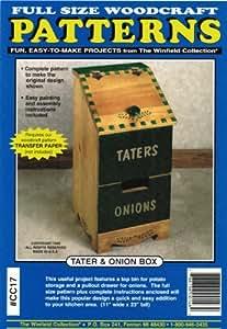 Amazon.com: Tater & Onion Box Woodworking Plan: Arts, Crafts & Sewing