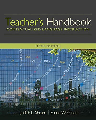 Teacher's Handbook: Contextualized Language Instruction (World Languages) by Cengage Learning