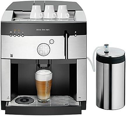 WMF 1000 S Barista Totalmente automática Máquina espresso 2.8L 2tazas Negro - Cafetera (Máquina espresso, 2,8 L, Granos de café, Molinillo integrado, ...