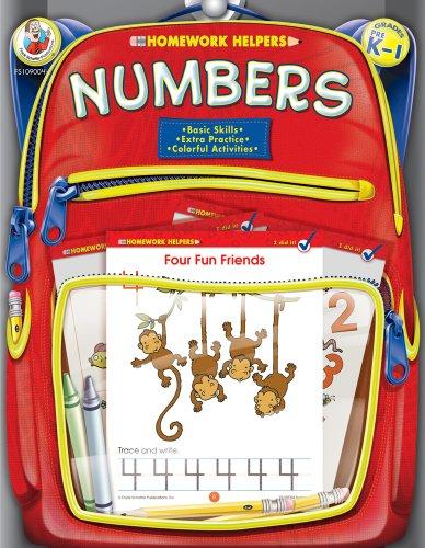 Numbers Homework Helper, Grades PreK to 1