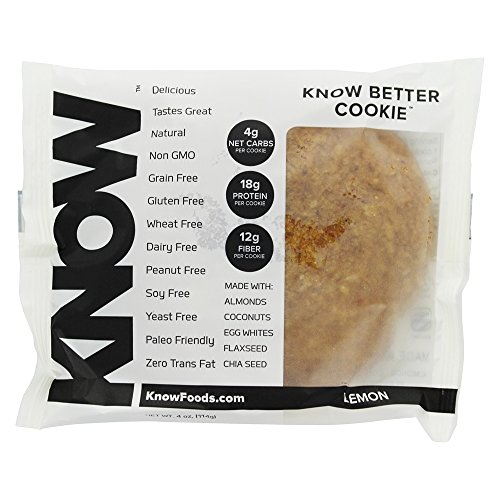 Know Better Foods   Gluten Free Cookie Lemon   4 Oz