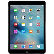 Apple iPad Air MD786LL/A Wi-Fi 32GB, 9.7in - Space Gray (Renewed)