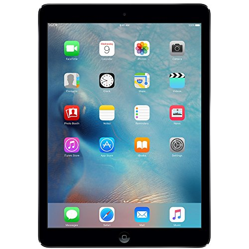 Apple iPad Air MD786LL/A Wi-Fi 32GB, 9.7in - Space Gray (Renewed) (Ipad 64gb A7 Air Apple)