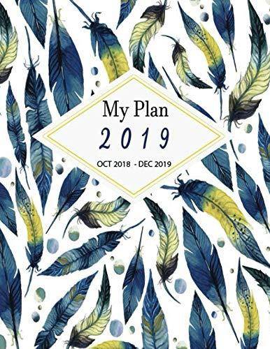ths Calendar Oct 2018 to Dec 2019 Journal Planner Agenda and Schedule Organizer ()
