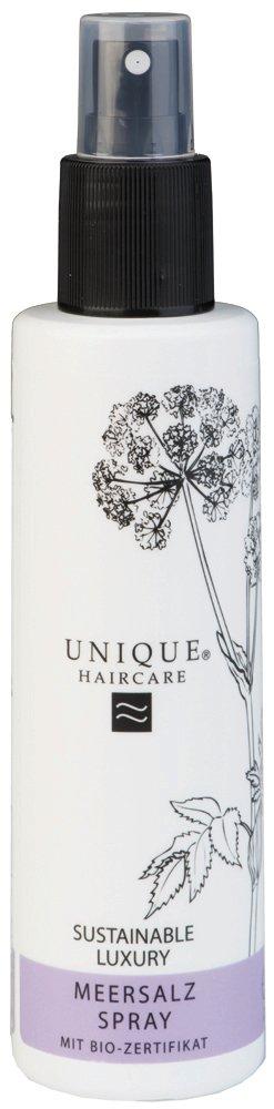 Unique Beauty Haircare Styling Meersalz Spray 150 ml Verleiht Ihrem Haar einen Hauch von windzerzaustem Look Unique Products