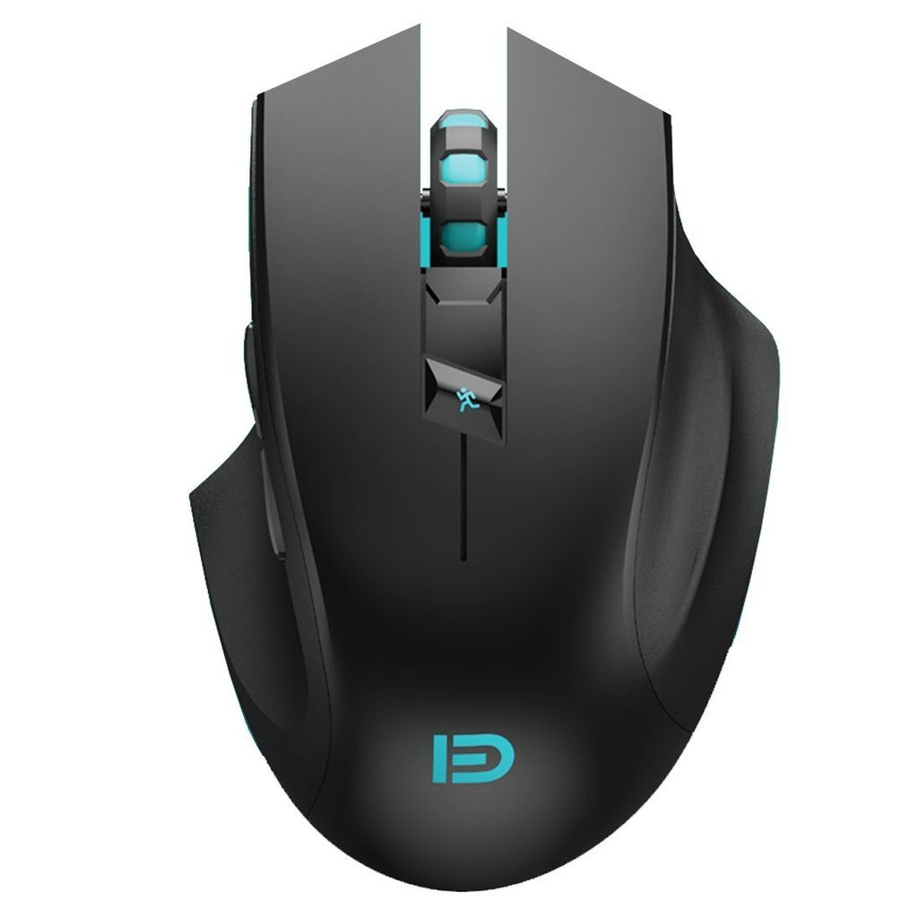 Wireless Gaming Mouse,FOME I720 Ergonomic Right-handed Design Noiseless Buttons Precise positing Optical Wireless Gaming Mouse DPI 1000/1600/2400 with Windows MAC Black?