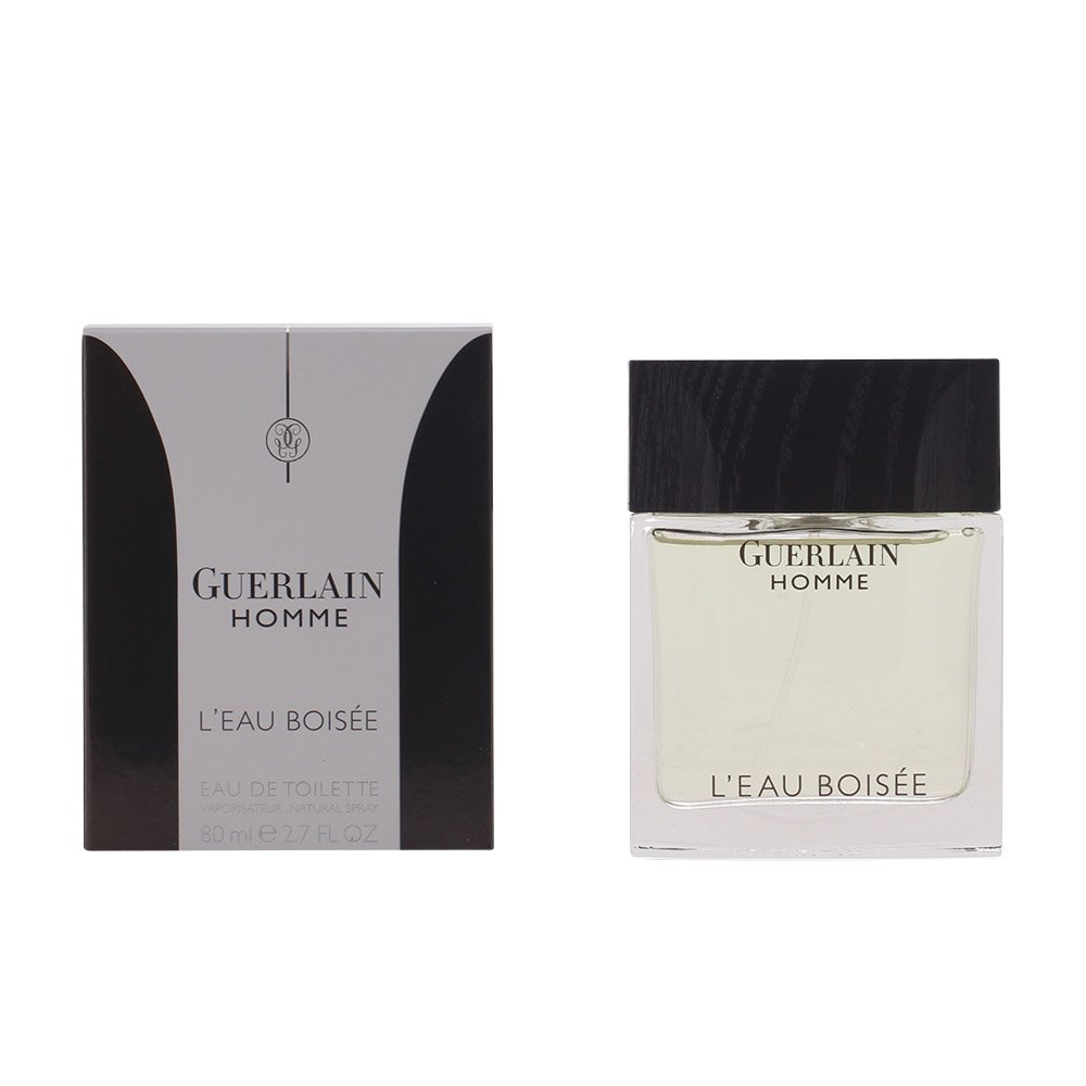 Guerlain homme l'eau boisee for men eau de toilette spray 2.7 oz 3346470301641