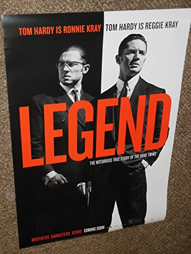 Legend - Tom Hardy- Kray Twins- 27x40 Original D/S Movie Poster