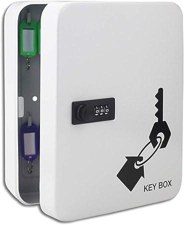 Armarios para llaves 28 dígitos montado en la Pared de la Caja de gestión de la
