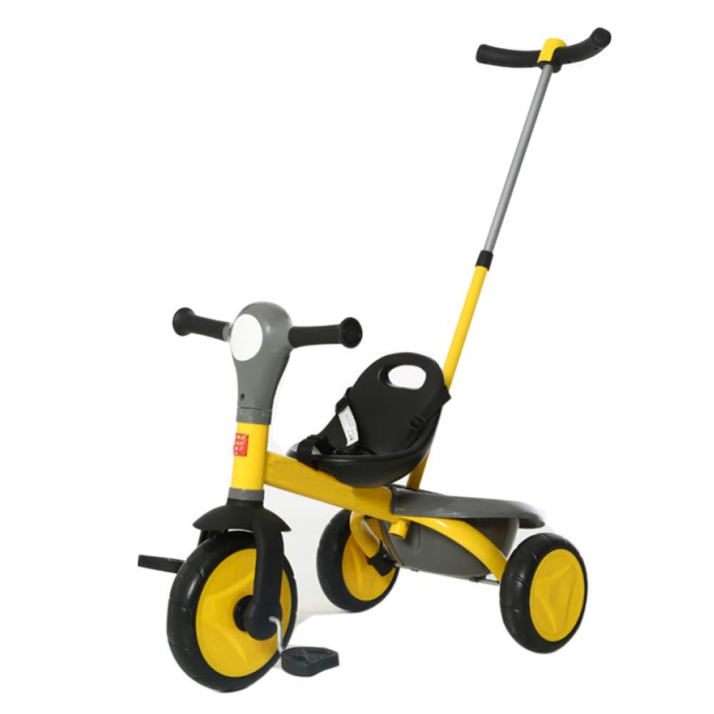 TH - Triciclo para Niños Triciclo Baby con Barra De Empuñadura Extraíble EVA Rueda 1.5-5 Años