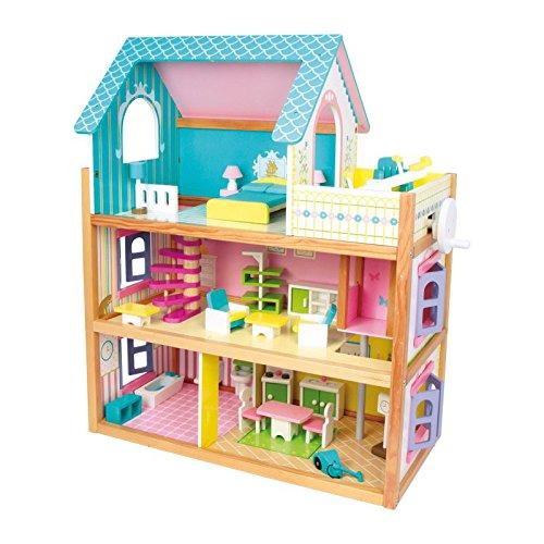 Puppenhaus aus Holz Legler Puppenhaus Residenz