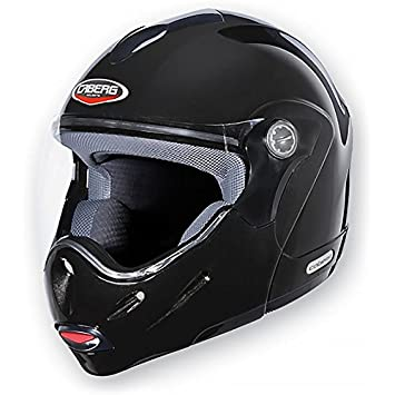 Caberg Rhyno junior Flip Up/frontal para casco de moto, color negro