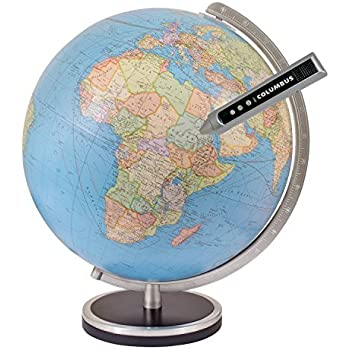 Amazon columbus pathfinder 13 inch interactive world globe columbus pathfinder 13 inch interactive world globe publicscrutiny Images
