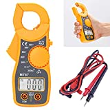 HDE Portable AC/DC Digital Voltage Multimeter Tester Electronic Clamp OHM Amp Meter LCD Display