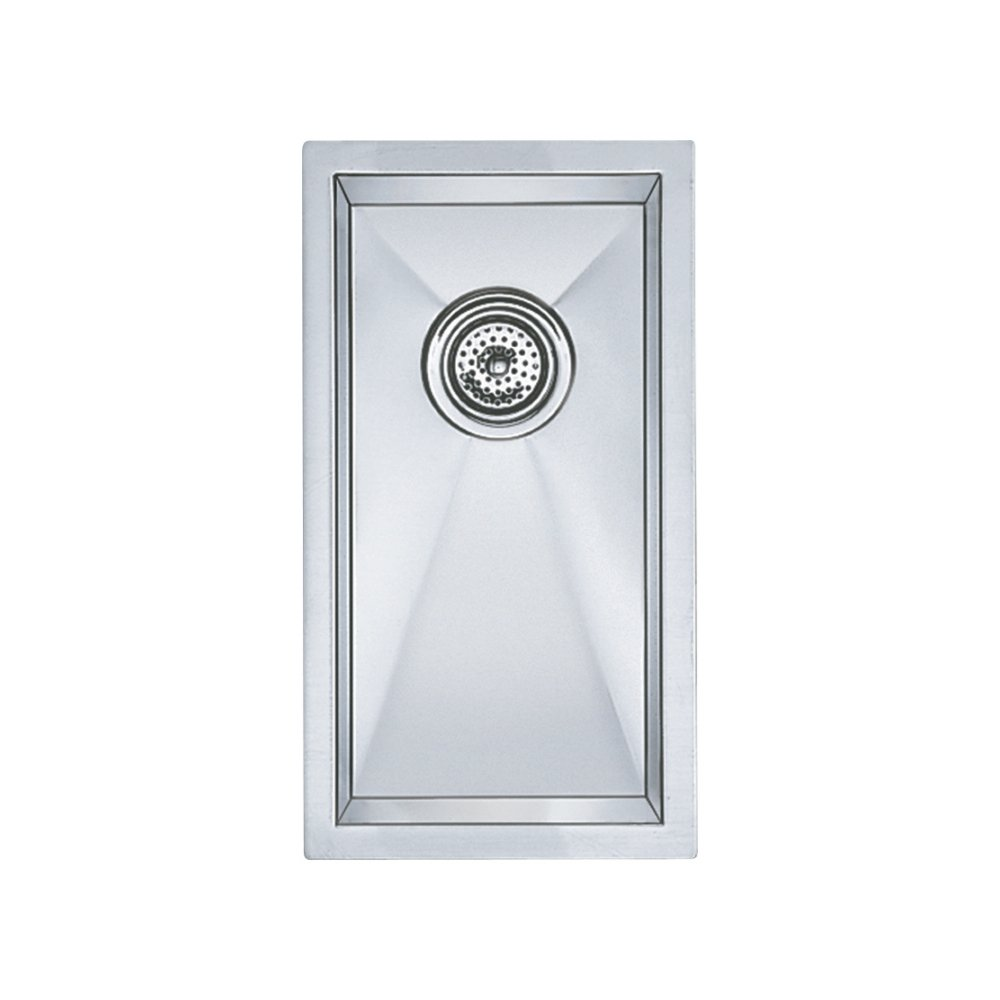 Incroyable Blanco 512743 Precision Small Bowl Undermount Sink, Vertical Orientation,  Stainless Steel   Single Bowl Sinks   Amazon.com