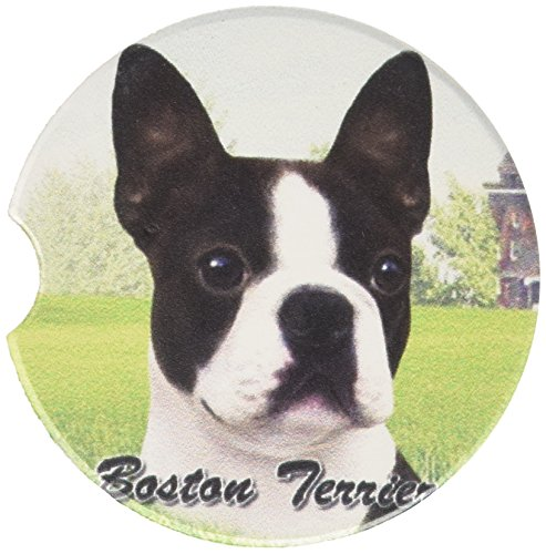E&S Pets Boston Terrier Coaster, 3