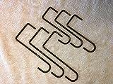 Alumawood Lattice Combo''Spanish Brown'' Powder coated steel hangers - Combo 3-3''x 8'' Lattice Hangers 3-2''x 6'' Rafter Hangers for Alumawood covers.''ORDER NOW''