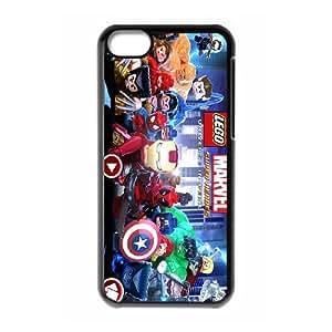 iPhone 5C Phone Case Lego Marvel Super Heroes Nj3212