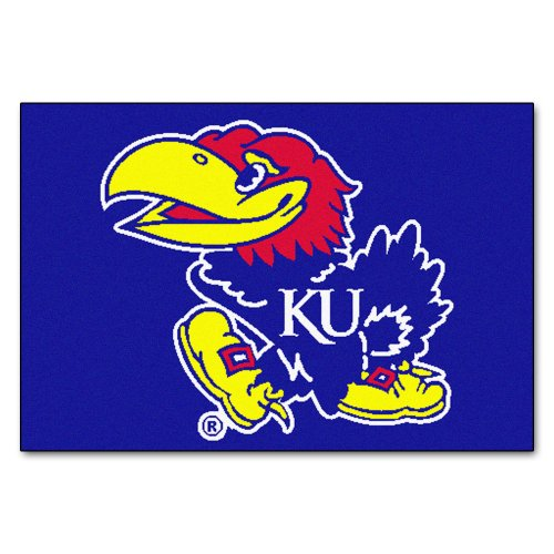 FANMATS NCAA University of Kansas Jayhawks Nylon Face, used for sale  Delivered anywhere in Canada