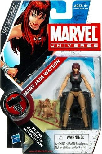 Marvel Universe 3 3/4 Inch Series 2 Action Figure Mary Jane