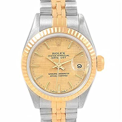 Rolex Datejust automatic-self-wind mens Watch 69173 (Certified Pre-owned)