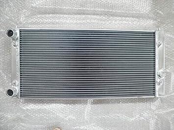 MONROE RACING U0339 Radiador de aluminio de 2 filas para Volkswagen Golf Mk3 1.8/2.0L MT 93-99: Amazon.es: Coche y moto
