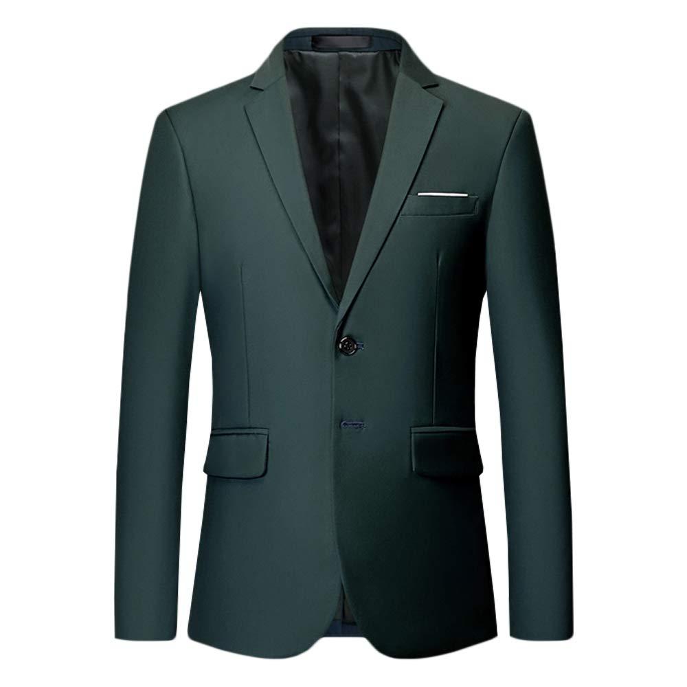 GOMY Men's Casual Slim Fit Party Dress Suit Jacket Stylish Dinner Wedding Blazer XZ1P-533