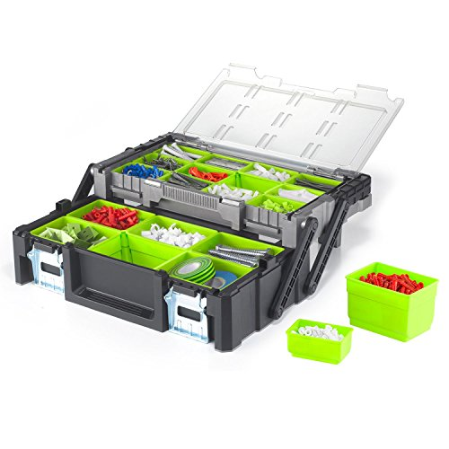 Keter 17186819 18-Inch Cantilever Tool Box by Keter