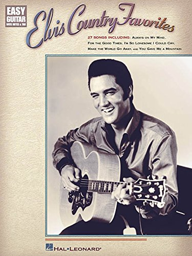 Elvis Country Favorites (Easy Guitar with Notes & Tab)