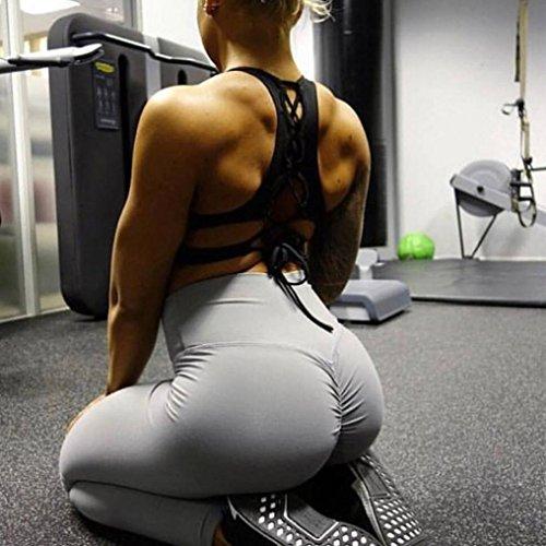 Pantalons Gris Paragraphe Yoga Running FMinine Fitness Pantalons Nement Leggings Gym Hanche Yoga AthlTique Mme Couleur Pantalon Sports Mode D'Entra Long De Solide Leggings OHQ wXqzafgxCH