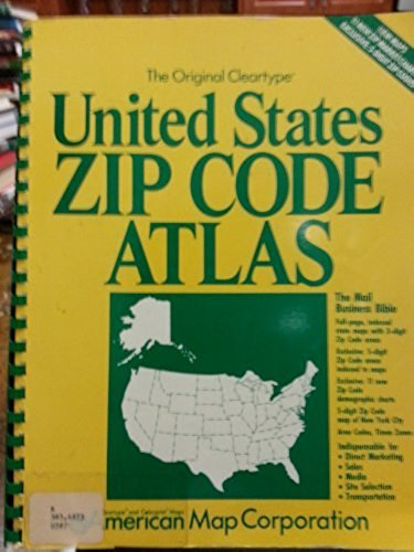 The Original Cleartype United States Zip Code Atlas