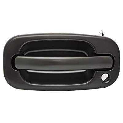 Parts N Go 1999-2007 Chevy Yukon Door Handle Driver Side Left Hand LH Black - 15150735, GM1310140: Automotive
