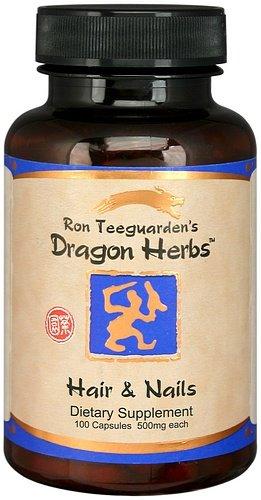 Dragon Herbs Hair Nails 500 mg 100 Veggie Caps
