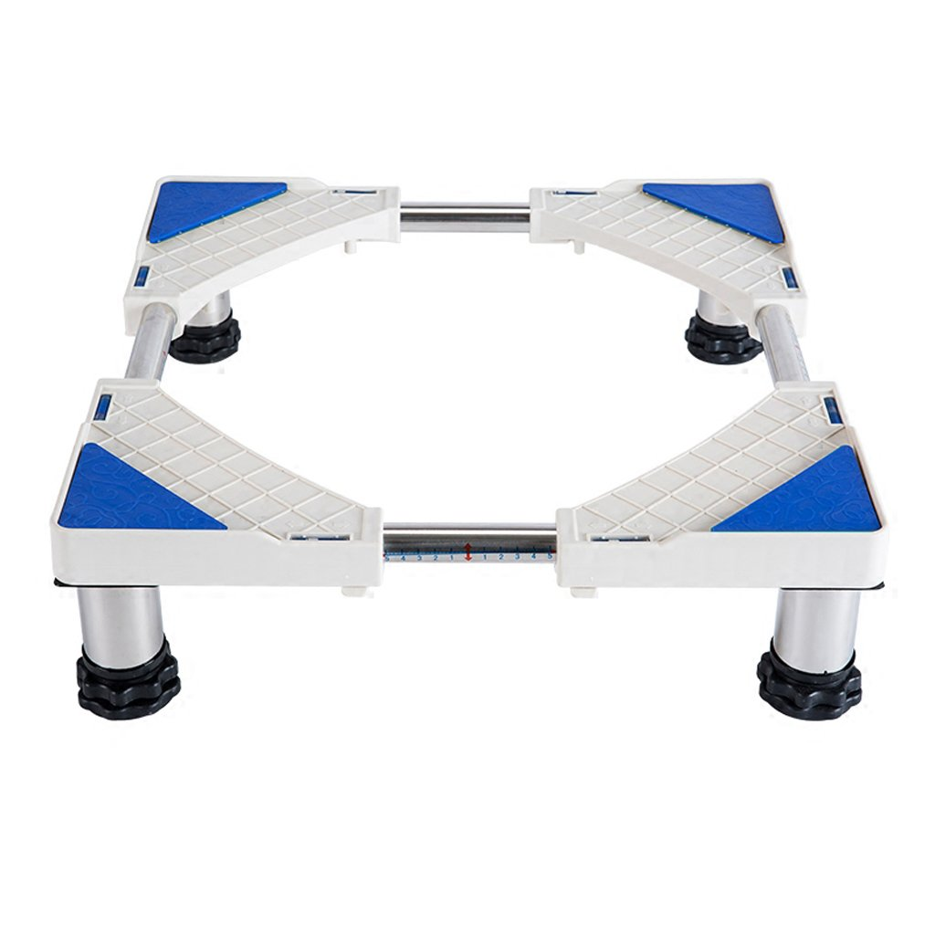 Washing Machine Base Stainless Steel Heightening 10cm Bracket Fridge Stand -Casters (Size : A)