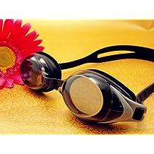 RX Corrective Optical Swim Goggles +5.0 Black (Small Bridge age 5yrs to 10yrs old)