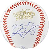 Boston Red Sox 2013 World Series Champions Team Autographed World Series Baseball with 20 Signatures - Limited Edition of 100 - Fanatics Authentic Certified