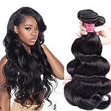Best Grade Of Human Hair Weaves - Suitable Hair Brazilian Virgin Hair 3 Bundles Body Review