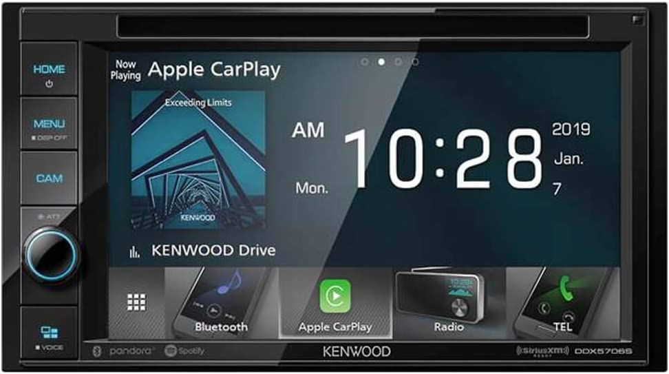 Kenwood 6.2-Inch Double-DIN In-Dash DVD Receiver